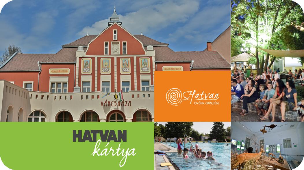 A Hatvan Kártya személyre szóló kedvezménykártya. Kedvezmények közszolgáltatások igénybevételénél és a csatlakozott partnereknél kaphatóak.